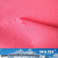 new product 4 way stretch woven 92 nylon 8 spandex ripstop pink fabric