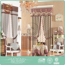 Shaoxing supplier Small MOQ Latest design indian style curtains