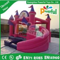 Hot sale princess bounce castle/inflatable combo