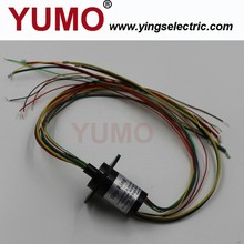 YUMO (SR022-24-4P/6S) Housing 22mm miniature Waterproof IP51-IP64 capsule slip ring electrical slip ring