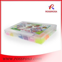 ROSSROSA.COM Wholesale 4200pcs Rubber Bands Loom Rubber Bands and Bracelet RLPS0401