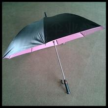 High quality fashion design sun umbrella with electric fan