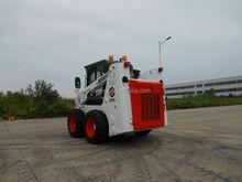 Forway WS50 Cool white color design Skid steer loader with mini backhoe