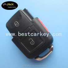 Big discount 2+1 buttons remote case for V-W remote key key remote control case for vw key case