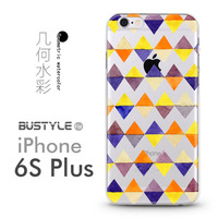 3D Soft TPU Mobile Phone Case For Apple iPhone 4 5s 5c 6 6s plus with the Latest Geometric pop Style