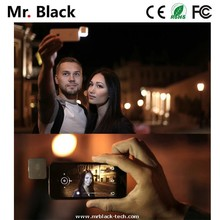 Selfie monopod Iblazr led flash light, Synchronized Led flash square mini smart phone flash light led