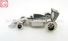 High quality quartz analog racing car small Clock