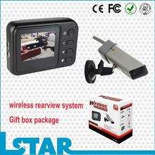 wireless rear view system with 2.4inch monitor