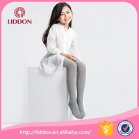 Plain color design kids girls cotton pantyhose professinal hosiery manufacturer