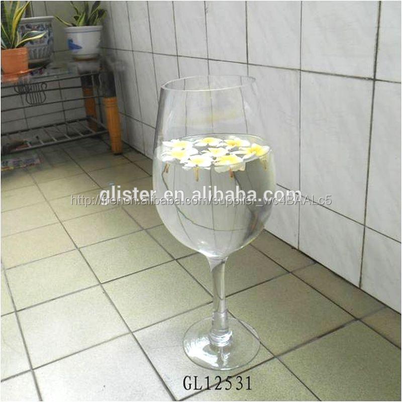 g ants haut vases en verre de vin vases en verre cristal id du produit 500004376492 french. Black Bedroom Furniture Sets. Home Design Ideas