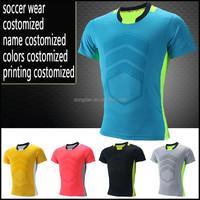 The latest custom top quality cheap soccer wear/ training wear/soccer team wear