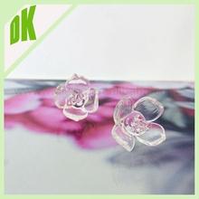 Glass Crystal Flower - Fun Festival & Rave Wear, Summer Fashion For Her !!! Rare Vintage mini flower shape glass beads wholesale