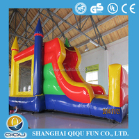 2015 commercial cheap good quality cheap durable largest Magic inflatable water slide blower for sale