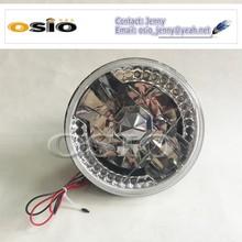 7 inch Round BMC CRYSTAL GLASS LED HALO RING 12V/24V Auto Halogen Semi Sealed Beam Auto Halogen Lamp