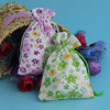 hot sale hand made various sizes small jewelry pouch cotton fabric wholesale