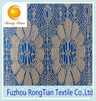 African feature of water soluble embroidery lace fabric for ethnic clothes