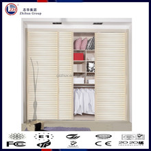 zhuv pvc wardrobe with louvered design