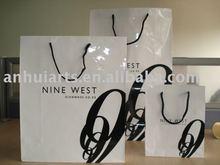 NINE WEST paper bags