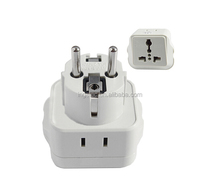 2 pin 220v plug adapter standard UK AC adapter ingelec electrical plug adapter