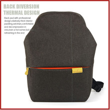 2015 eco friendly Durable backpack canvas teen backpack