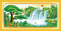 CHINESE EMBROIDERY DIY CROSS STITCH KIT FOR HOME DECORATION
