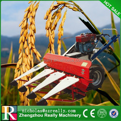 Multipurpose rice paddy/wheat/soybean/reed/pepper and wheat harvest machine