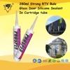 280ml Strong RTV Bule Glass Door Silicone Sealant of Cartridge tube