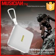 3W Enhanced BASS+ Bluetooth 3.0 speaker, Built in Cell Phone/Car Speakerphones, Portable mini Zinc Alloy Shell speaker