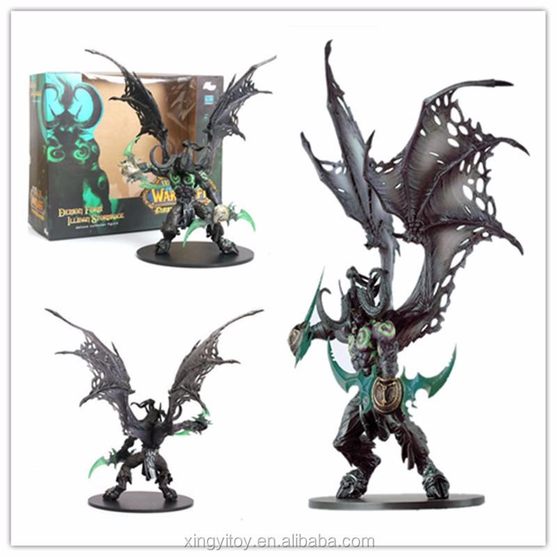 dc wow world of warcraft illidan stormrage demon form