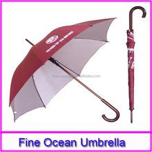 good price custom printing logo high quality windproof umbrella for promotion