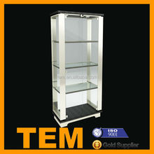 China Supplier Customized High Quality Corner Glass Display Cabinet