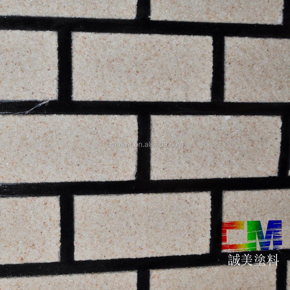 Waterborne Spray Natural Texture Stone Paint Brick Texture Interior Exterior Wall Paint