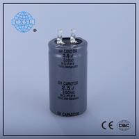 Best Price CBB60 Capacitor 0.1uf x2 275v