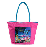 lady women nylon handbag ,fashion beach shoulder waterproof bag ,wholesale shopping tote bag