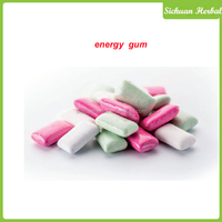 Energy chewing gum refresh chewing gum