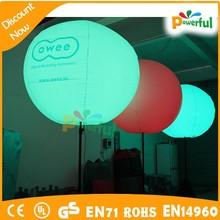 inflatable balloons inflatable christmas balls/LED light Inflatable Tripod Balloon
