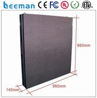 high definition smd p2/p3/p4 indoor full color led display rental led screen aluminum profile snap frame profiles aluminum