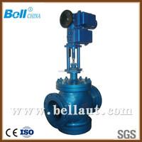 China electric control valve manufacturer, damper valve with electric actuator, motorized flow control valve