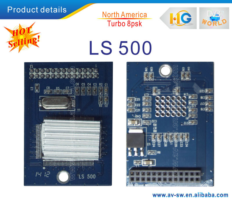 LS500 module 8PSK module board LS-500 Module 8psk module board For ilink 9800&Limesat HD&Linkbox8000 HD Plus