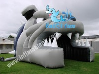 cheap animal commercial inflatable puppy tent rental for sell