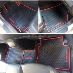 Custom 3D PVC Latex Car Mat , Car Floor Mat For Hyundai, Volkswagen, Mercedes,Honda,Toyota cars