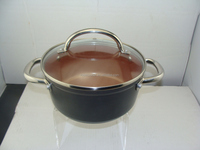 Non-stick Ceramic Dutch Oven with s/s handle RT--031