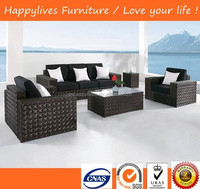 Good quality 5 seater sofa set leisure ways outdoor furniture chinese furniture manufacturers China (HL-9105)