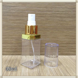 60 ml PETG/PET Refillable Plastic Spray Bottle With High Quality