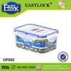 600ml airtight plastic food storage bin with lid
