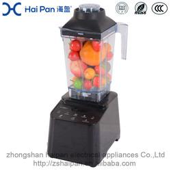 Low Voice Design High Performance Blending Fruit And Ice electric fruit blue color blender