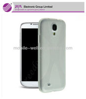 Low price X tpu back cover case for Samsung Galaxy S4 i9500
