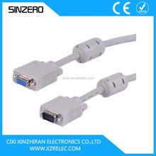vga cable max resolution/awm cable vga XZRV005/vga to mini din cable