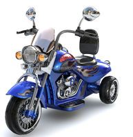 Fashion Harley Style Kids Ride On Plastic Motorcycle