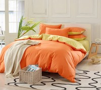 hotel supplies cotton fabric bed sheets/comforter sets/bed covers used hotel bed sheets